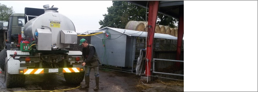 7 years in organic milking let to mobile milking parlour