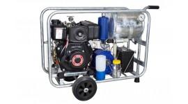 Chariot de traite mobile sous vide diesel MOOTECH-D350L