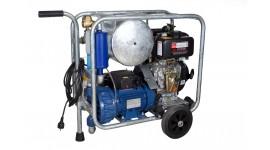 Chariot de traite mobile sous vide diesel/électrique MOOTECH-D/E450L