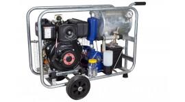 Chariot de traite mobile sous vide diesel MOOTECH-D250L