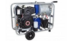 Chariot de traite mobile sous vide diesel MOOTECH-D500L