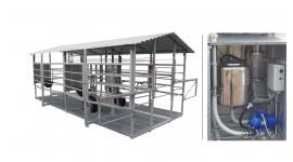 Salle de traite mobile MOOTECH-4 avec chambre de réception