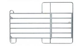 Barrière avec porte 3 m